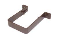 Pipe Clip Square (brown)