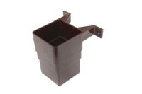 Square Offset Connector (brown)