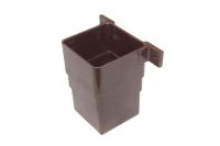 Square Flush Connector (brown)