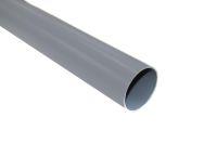 2.5 Metre Round Pipe (grey)