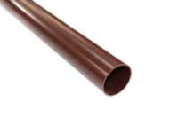2.5 Metre Round Pipe (brown)