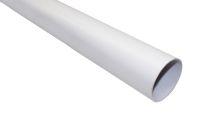 2.5 Metre Round Pipe (white)