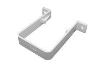 Pipe Clip Square (white)
