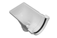 68mm Stop End Outlet (rapid white)
