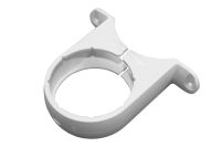 Pipe Bracket Round (terr white)