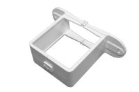 Pipe Bracket Square (terr white)
