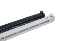 S4000 White/Grey Slotvent (front operated - screw fix)
