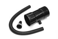 80mm Rainwater Diverter Kit (black)