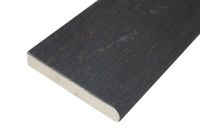 3.2 metre x 150mm Bullnose Decking Plank (Embered)