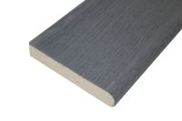 3.2 metre Bullnose Decking Edge Plank (Brushed Basalt)