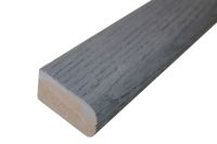 2.4 metre Flexible Bullnose Edging (Brushed Basalt)