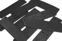 2mm Black Window Packers (100 approx)
