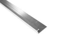 2.6 Mt Square Edging Trim (chrome aluminium)