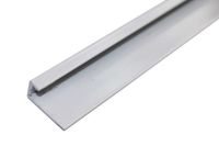 2.6 Mt Square Edging Trim (white aluminium)