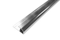 2.6 Mt Quadrant Edging Trim (chrome aluminium)
