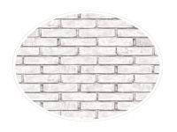 250mm Grey Brick (3D Matt)