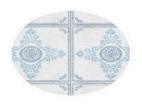 400mm Modern Blue Tile (Gloss)