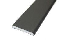 45mm x 6mm Flat Back Architrave (smooth black)