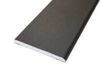 70mm x 6mm Flat Back Architrave (smooth black)