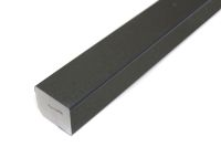 25mm x 20mm Rectangle (smooth black)