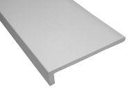 1 x 400mm Capping Fascia Board (white woodgrain)