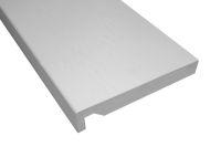 2 x 225mm Maxi Fascia Boards (white woodgrain)