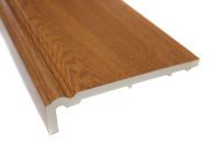 1 x 404mm Ogee Capping Fascia (golden oak)