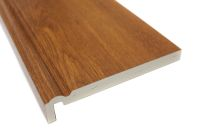 2 x 225mm Ogee Maxi Fascias (golden oak)
