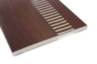 300mm Vented Soffit (rosewood)