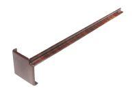 300mm Internal Fascia Corner (mahogany)