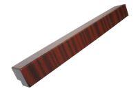500mm External Fascia Corner (mahogany)
