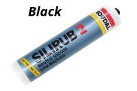 300ml Black Soudal Silirub 2 Silicone