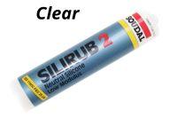 300ml Clear Soudal Silirub 2 Silicone