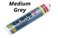 300ml Medium Grey Soudal Silirub 2 Silicone