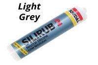 300ml Light Grey Soudal Silirub 2 Silicone