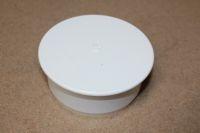 110mm x Socket Plug (white floplast)