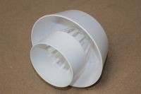110mm x Extract Vent Cowl (white floplast)