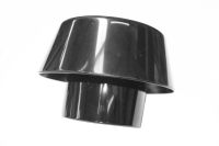110mm x Extract Vent Cowl (black floplast)
