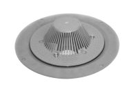 110mm Polypipe Domed Roof Outlet (large)
