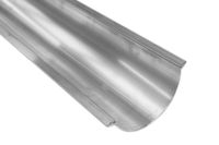 125mm x 3 metre Half Round Gutter (mill finish)