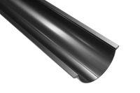 125mm x 3 metre Half Round Gutter (black)