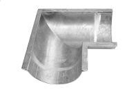 125mm x 90 Deg Gutter Angle (mill finish)