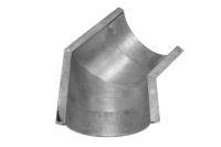 125mm x 135 Deg Gutter Angle (mill finish)
