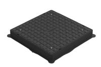 Square Screw Down Polypropylene Cover And Frame