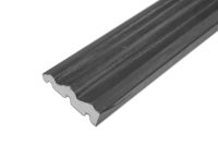70mm x 18mm Ogee Architrave (anthracite grey 7016 woodgrain)