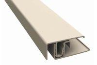 Aluminium 2 Part Lacquered Edge Trim (Graphite)