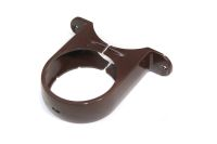 Pipe Bracket Round (rustic brown)