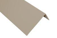 100mm x 50mm x 2mm Plastic Angle Trim (camel)