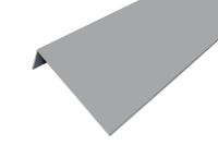 Aluminium 50mm x 150mm Lacquered Angle (Silver)