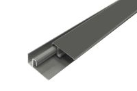 Aluminium 2 Part Lacquered Edge Trim (Quartz Grey/Graphite)